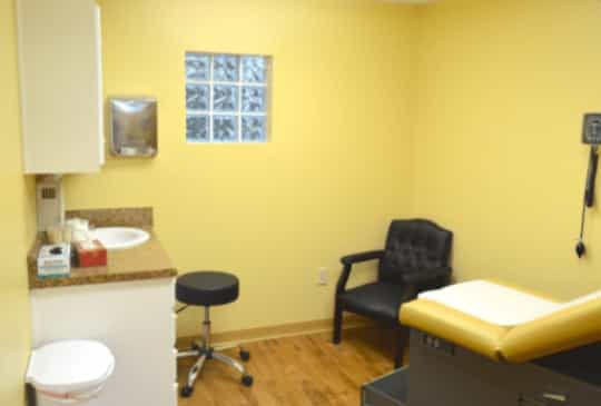 MDFirst Health and urgent care dental room