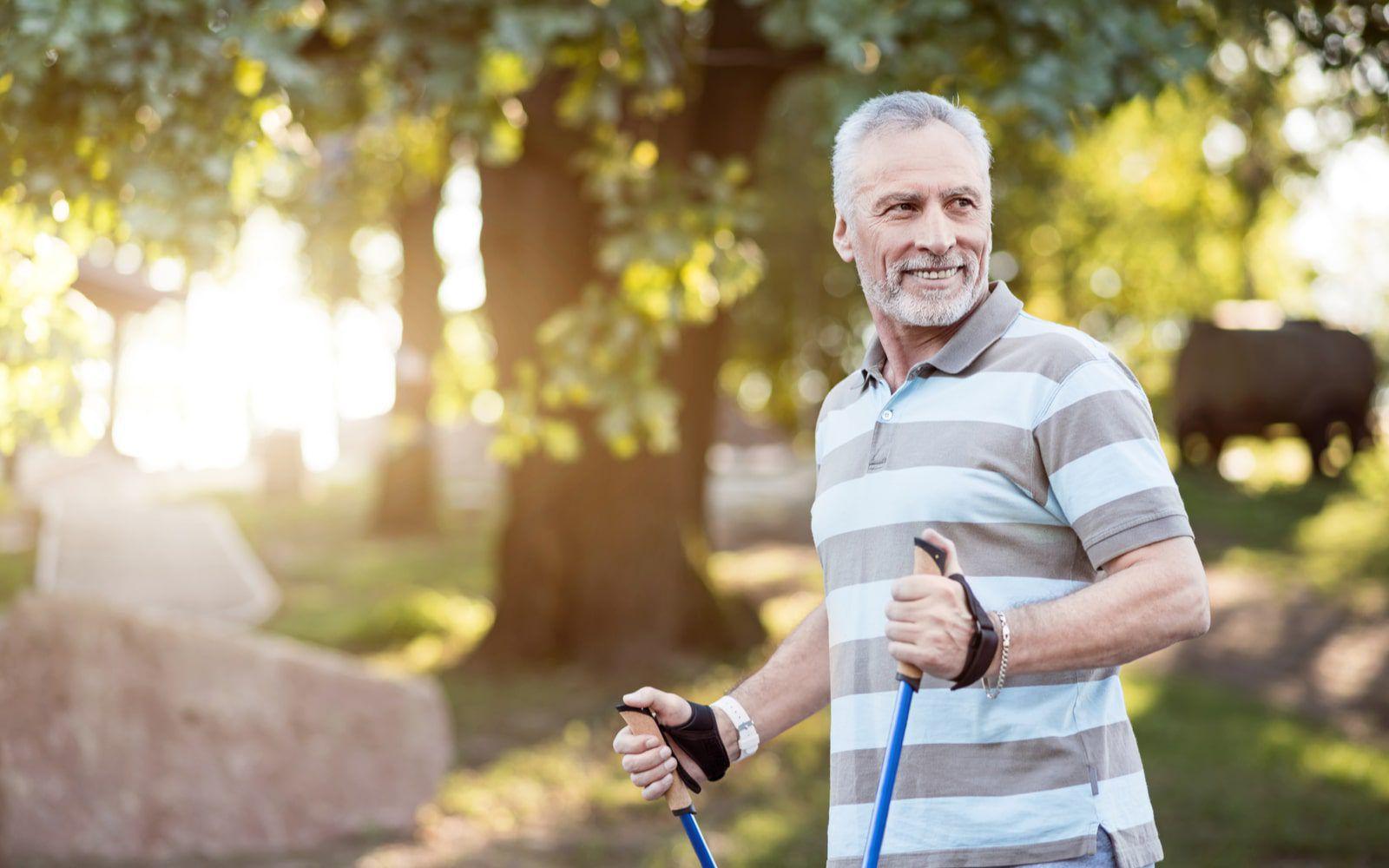 Healthy Older Man